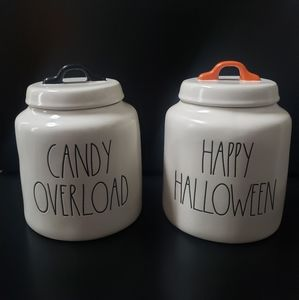 Rae Dunn HH and Candy Canisters